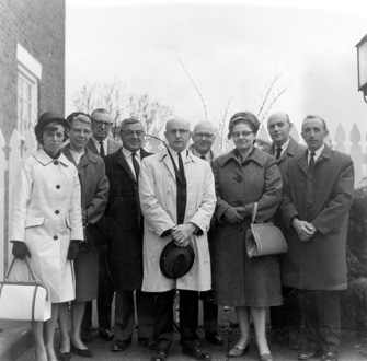 Board of Directors at 1966 spring meeting